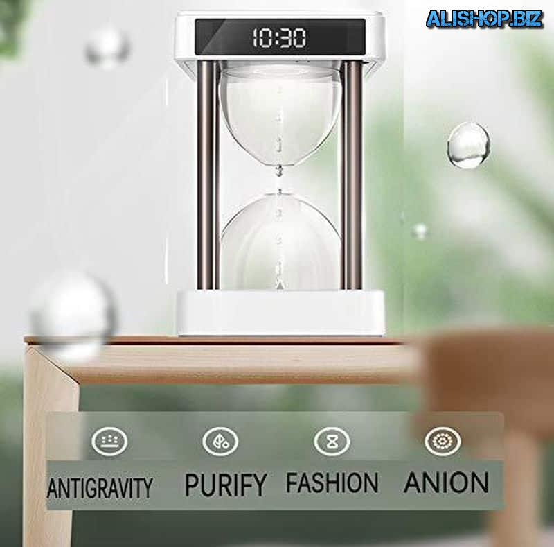 """Anti-gravity"" air cleaner"