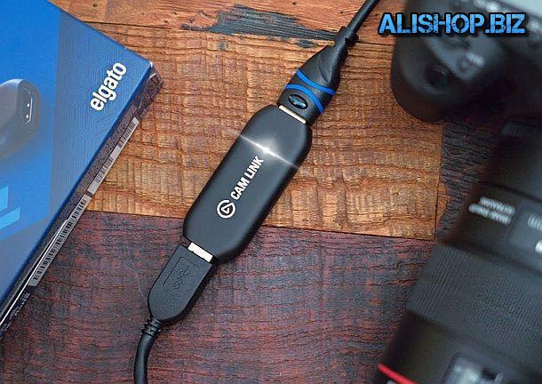 Устройство для использования фотоаппаратов в качестве веб-камер Elgato CamLink