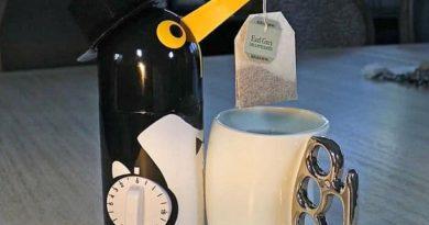 Таймер для чая в виде пингвина