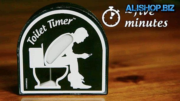 Timer for toilets