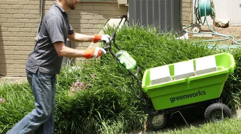 Электротележка для дачи Greenworks