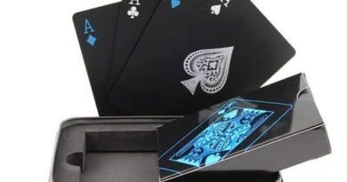 Набор игральных карт во влагозащищённой коробке