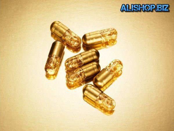 Pills of gold