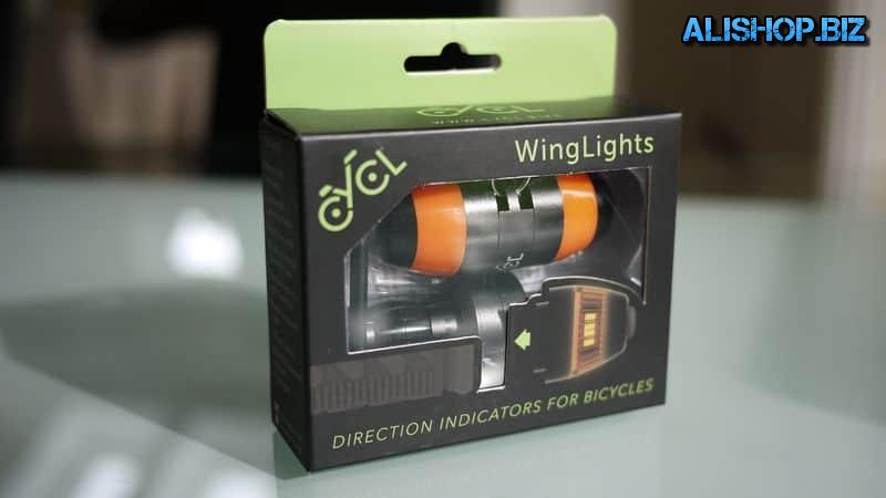 Bicycle turn signals CYCL WingLights