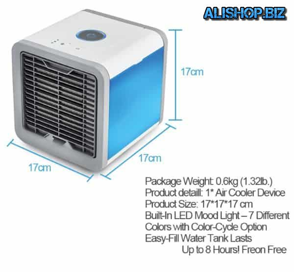 Portable air conditioner for the house and office