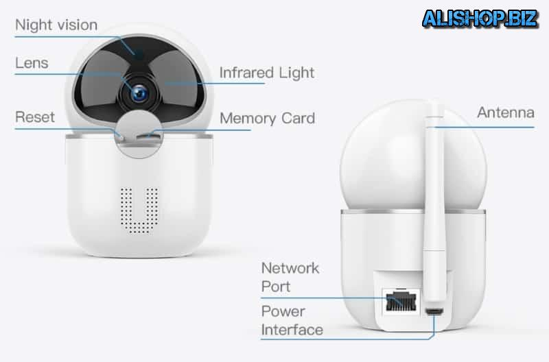 Wireless surveillance camera Fredi