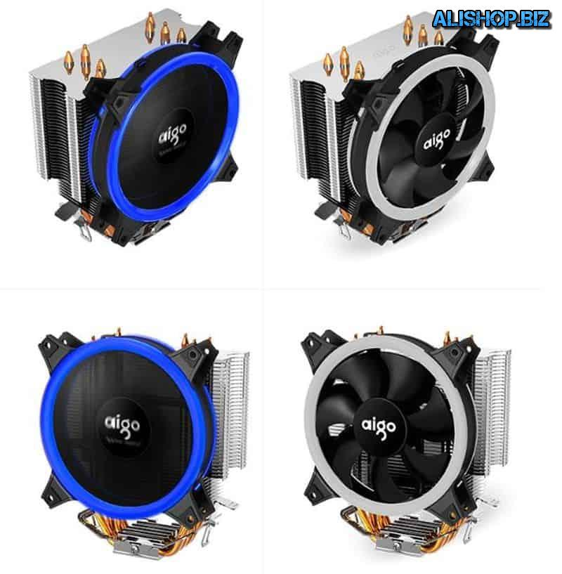 Big cooler for CPU cooling AIGO E3