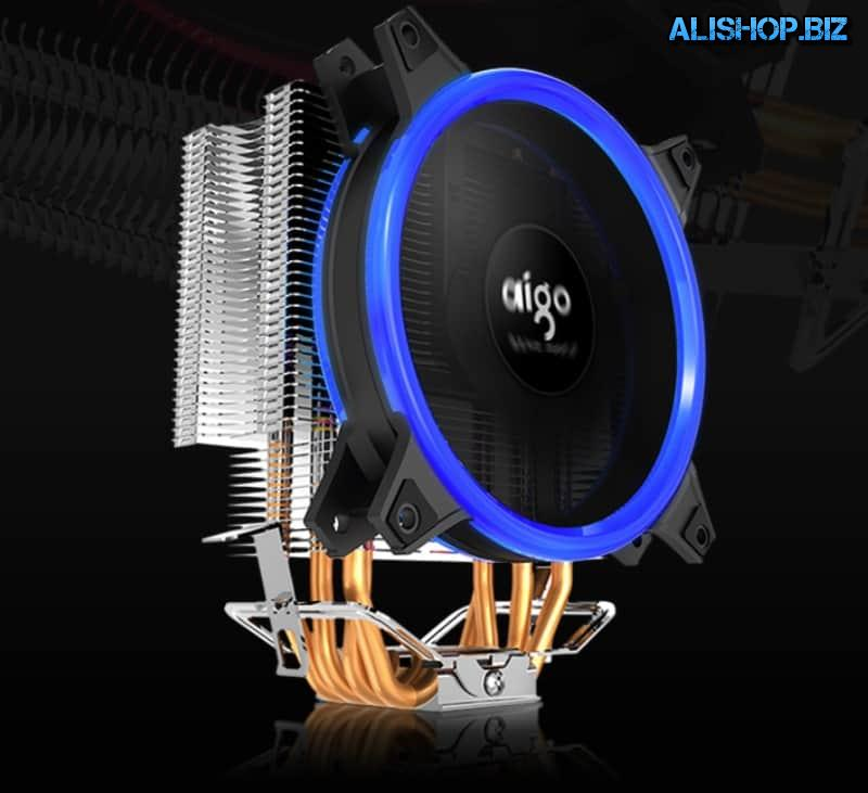 Tower cooler AIGO E3 with 4 heat pipes