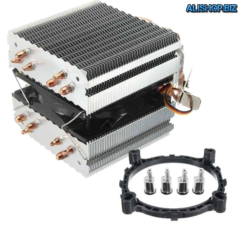 Powerful 6-pipe cooler