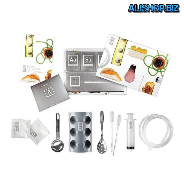 Kit for the preparation of dishes of molecular gastronomy Molecule-R Cuisine R-Evolution Kit
