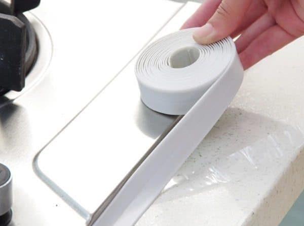Водонепроницаемая клейкая лента для кухни и ванной