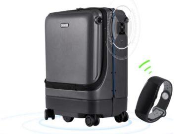 Умный чемодан с поддержкой автоследования QiangHao
