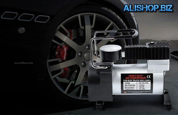 Портативный автомобильный компрессор