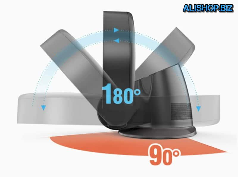 Bladeless fan for mounting on the wall