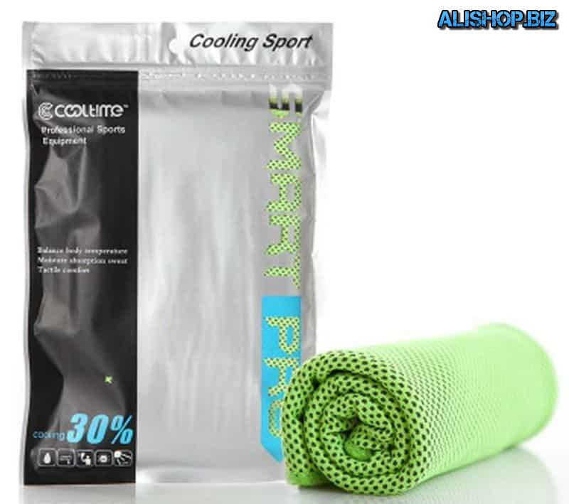 Cooling towel for athletes