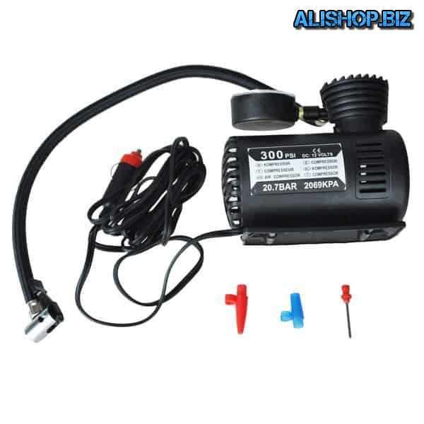 Mini air compressor for cars