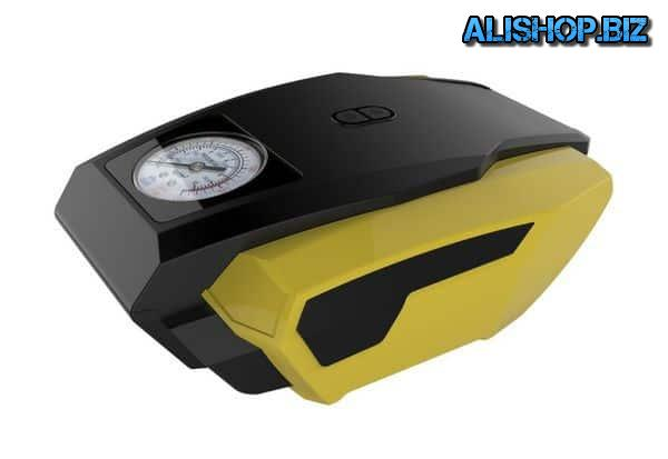 Fast compressor with flashlight