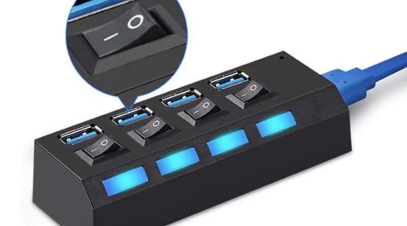Многопортовый USB-хаб EASYIDEA