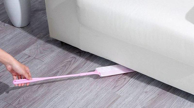 Узкая лопатка для уборки пыли