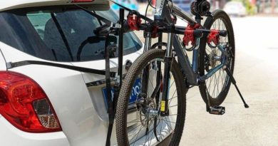 Прицепная багажная стойка для перевозки велосипедов