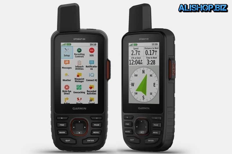 Garmin GPSMap 66i — cпутниковый коммуникатор с GPS