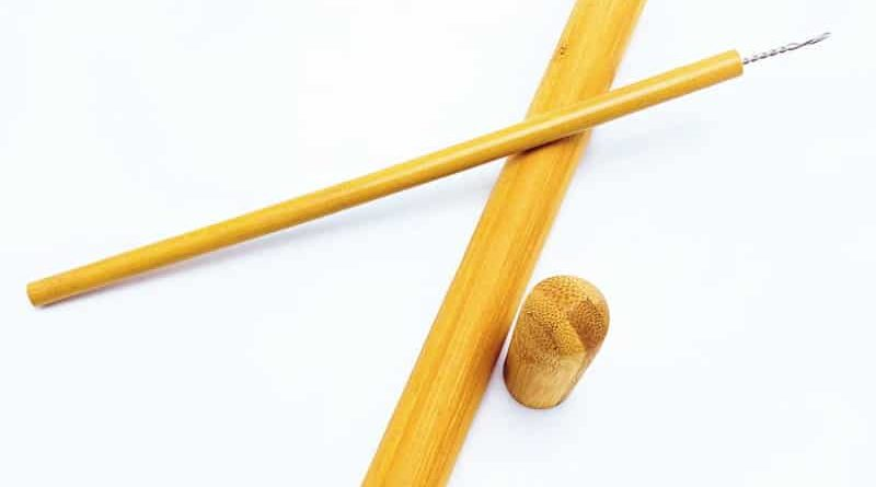 Бамбуковая соломинка для питья