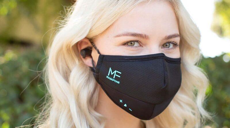 Лицевая маска со встроенной гарнитурой MaskFone