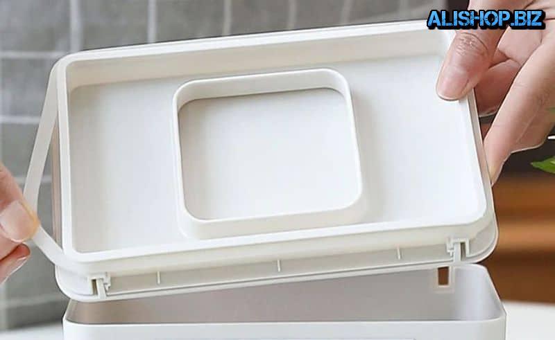 Коробка для хранения одноразовых масок