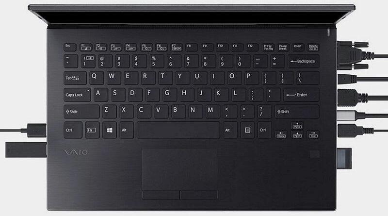 Ноутбук с портами на все случаи жизни VAIO SX12