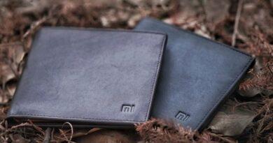 Кошелёк из натуральной кожи от Xiaomi